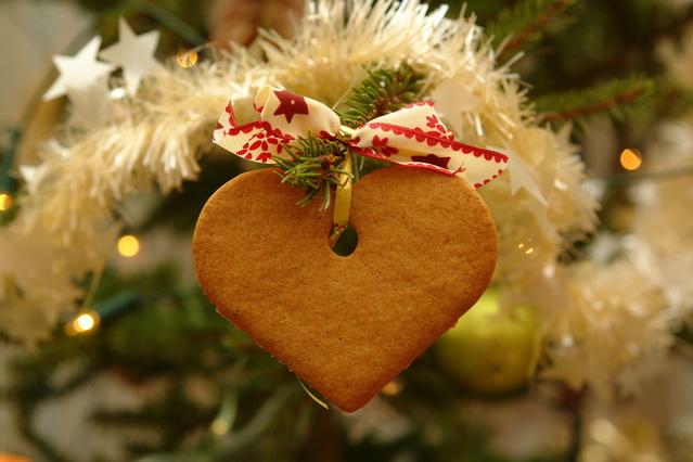 Lebkuchenherz - so vermeiden Sie Streit zu Weihnachten